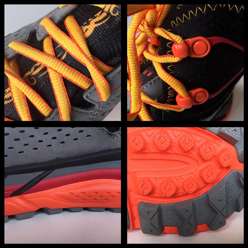 La chaussure de randonnée Hoka One One Tor Ultra HI WP, 2015, Ph. Moctar KANE.