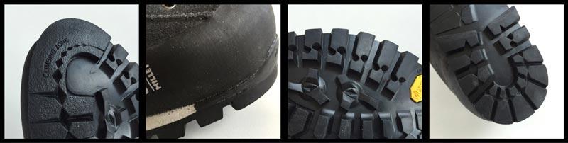 La chaussure de randonnée Millet Friction GTX, 2015, Ph. Moctar KANE.