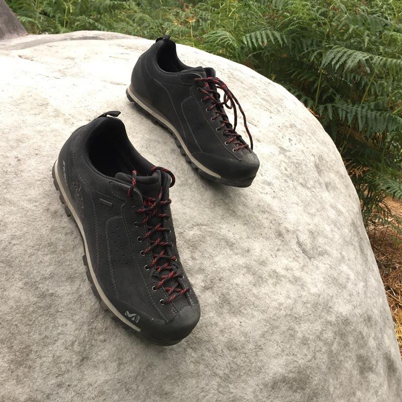 La chaussure de randonnée Millet Friction GTX, sur le terrain, 2015, Ph. Moctar KANE.
