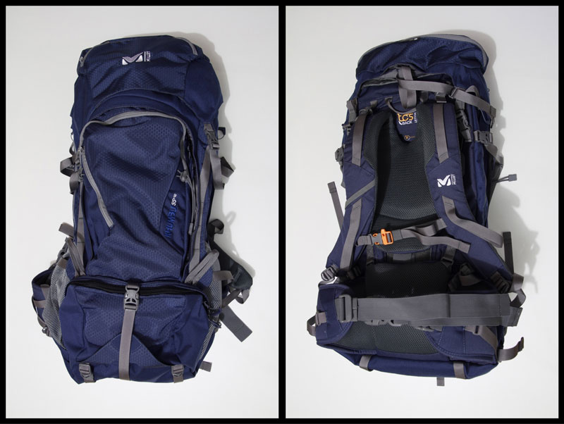 Le sac à dos de randonnée Millet Khumbu 55+10, 2015, Ph. Moctar KANE.