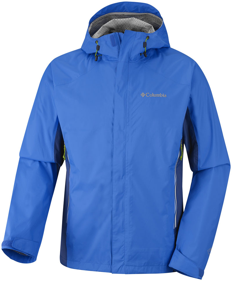 La veste Columbia Rainstomer Jacket.