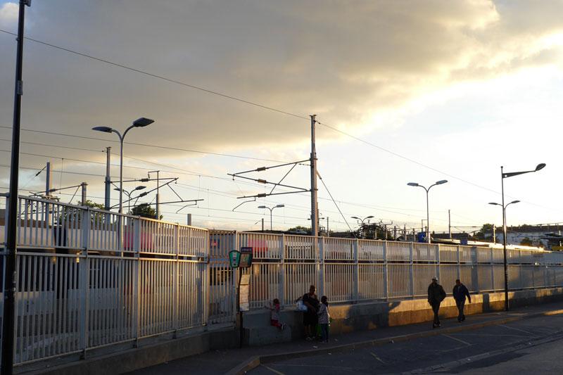 Gare du Bourget, Le Bourget, 2015, Ph. M. KANE. Photo prise avec le smartphone Panasonic Lumix DMC-CM1.