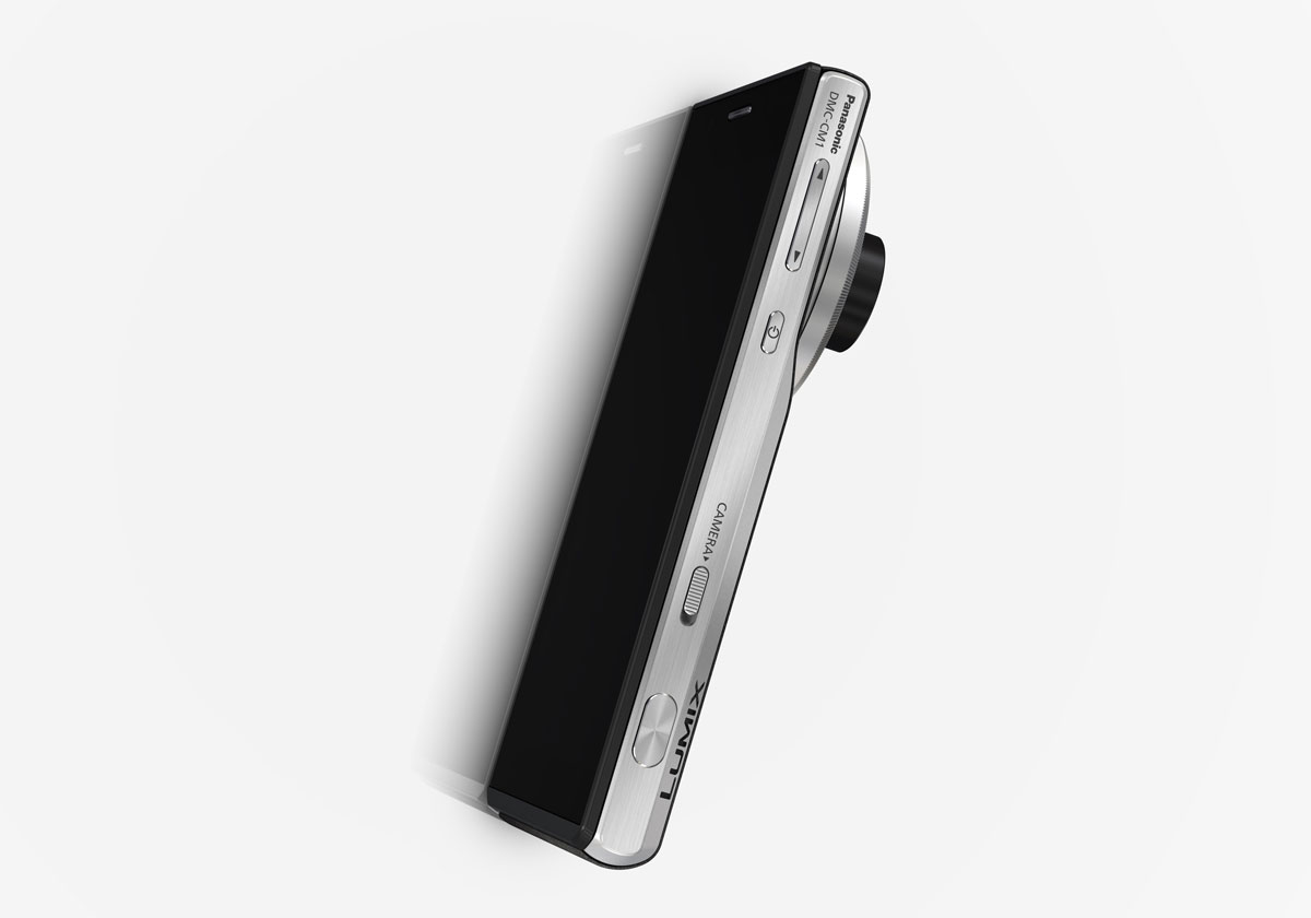 Le smartphone Panasonic Lumix DMC-CM1.