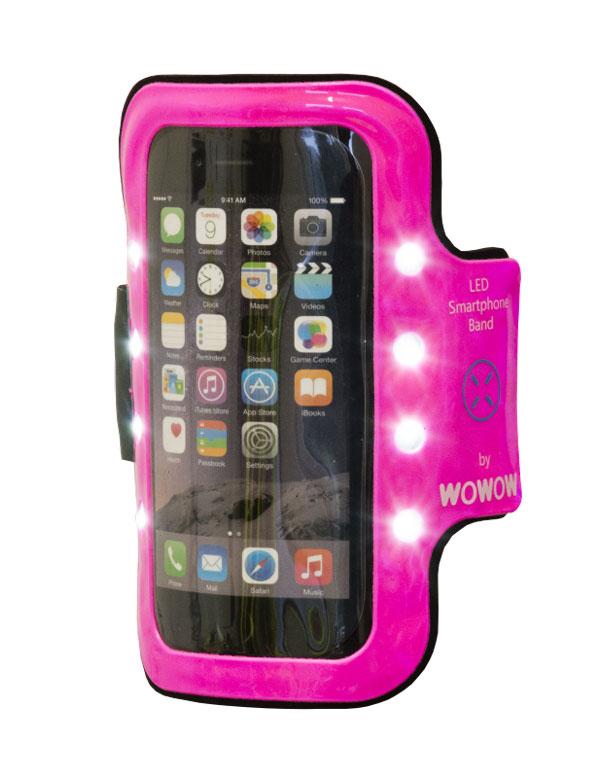 Le brassard Wowow Smartphone Band 3.0.