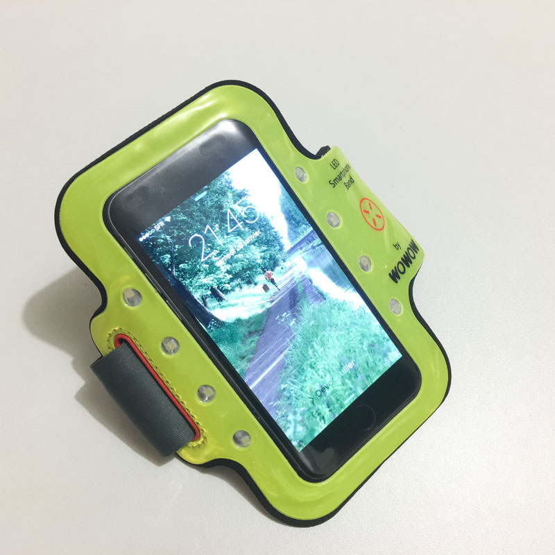 Le brassard Wowow Smartphone Band 3.0, Ph. Moctar KANE.