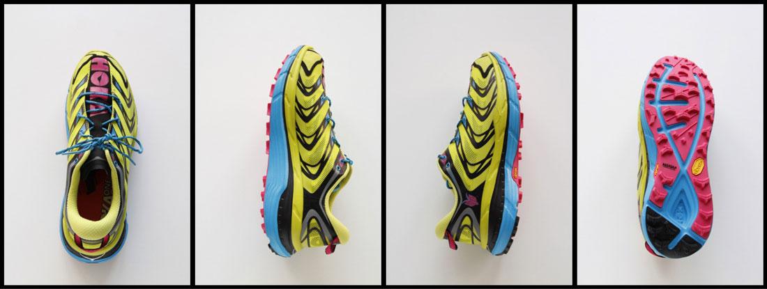 Les chaussures de running trail Hoka One One Speedgoat, 2015, Ph. Moctar KANE.