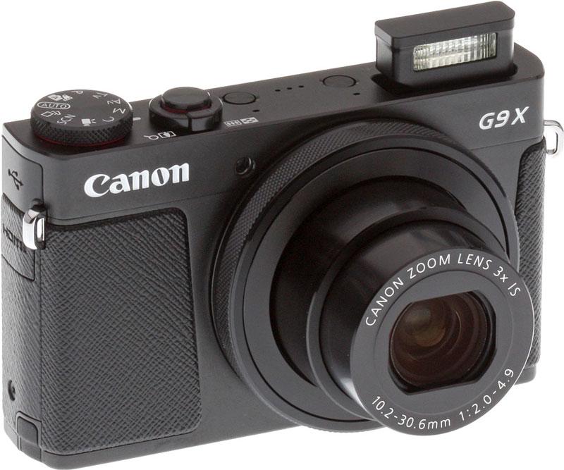 L'appareil photo numérique Canon G9 X.