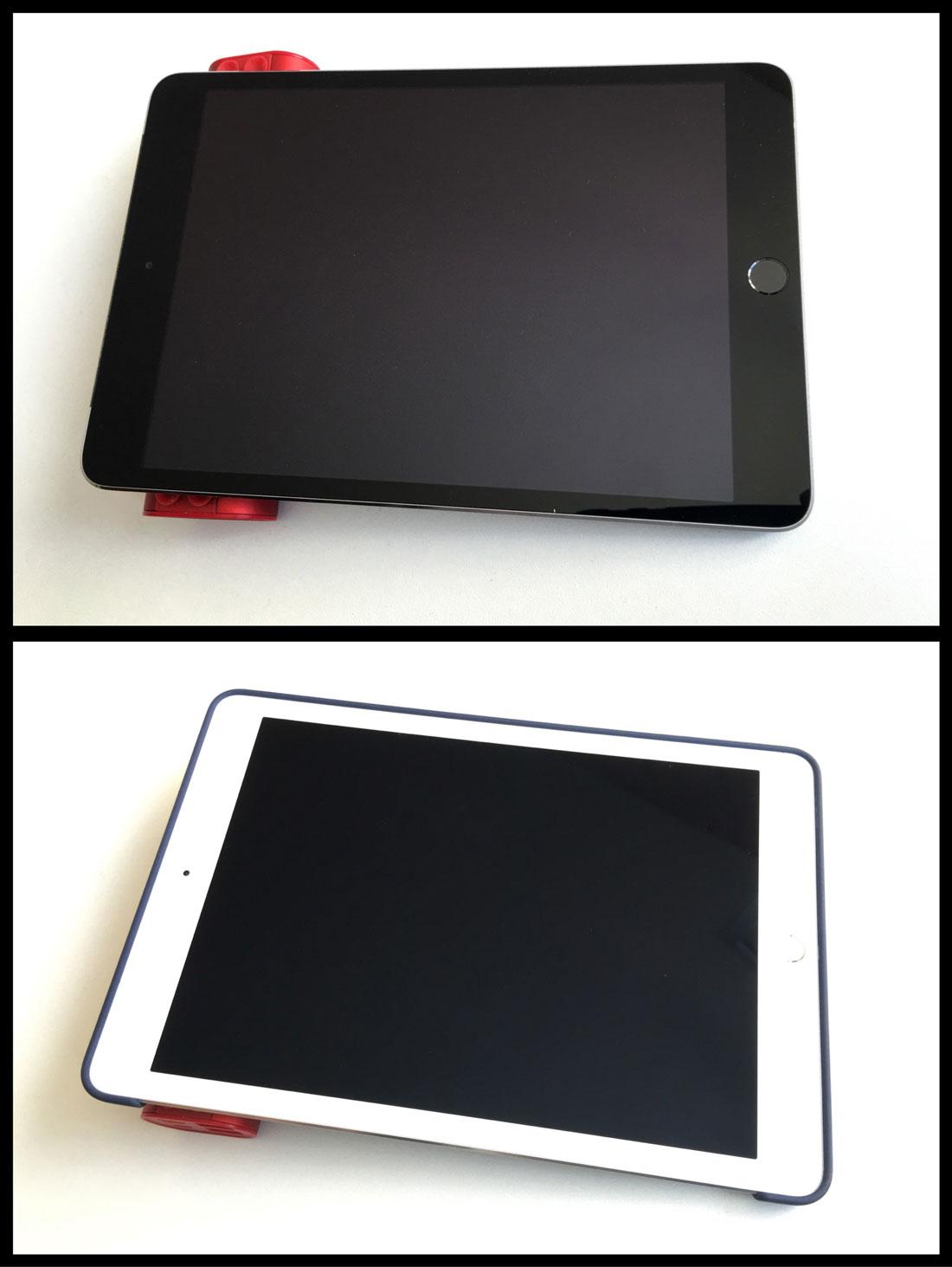La batterie autonome Xoopar Squid avec d'abord un iPad Mini, puis avec un iPad Pro 9,7'', 08 2016, Ph. Moctar KANE.
