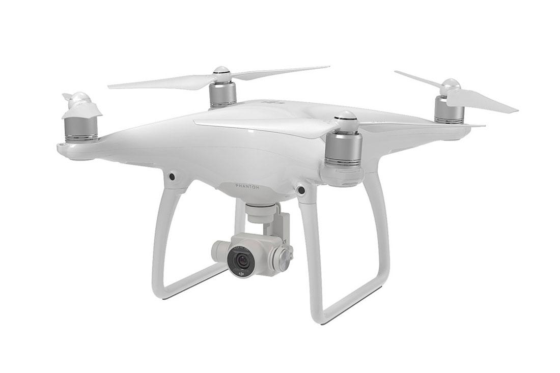 Le drone DJII Phantom 4.