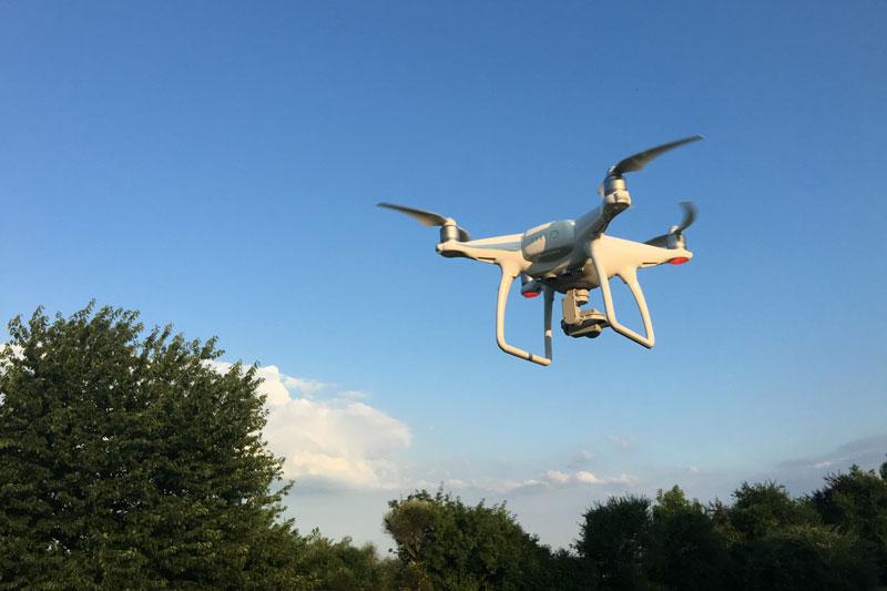 Le drone DJII Phantom 4, 2016, Ph. Moctar KANE.