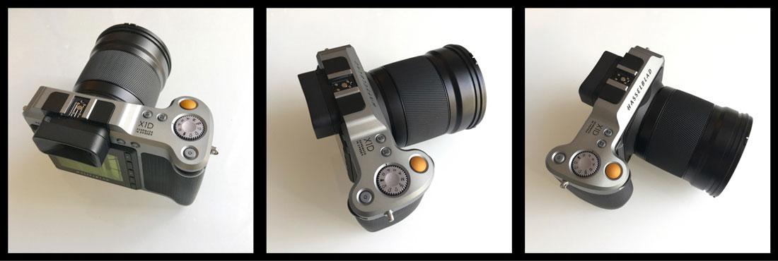 L'APN numérique moyen format sans miroir Hasselblad X1D, Ph. Moctar KANE.