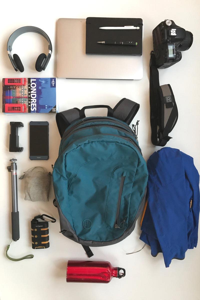 Le sac à dos photo hybride Tamrac Hoodoo 18, 2016, Ph. Moctar KANE.