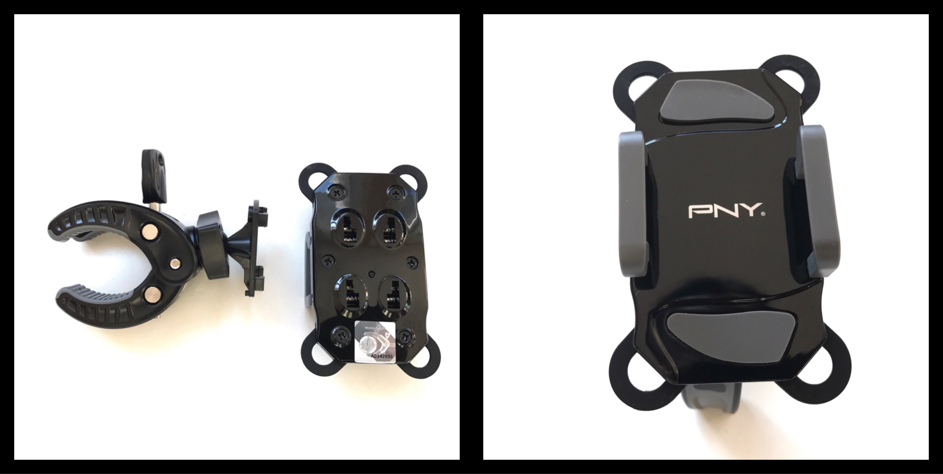 Le support vélo pour smartphone PNY Expand Bike Mount, 03 2017, Ph. Moctar KANE.