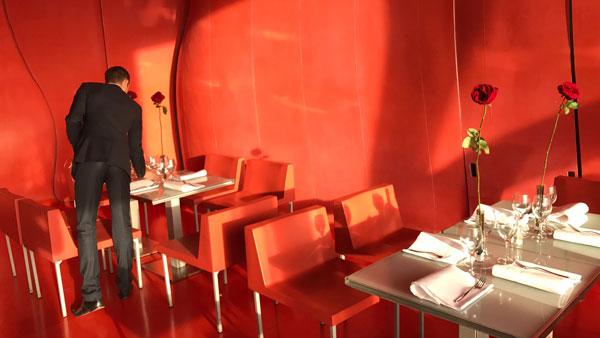 Restaurant du Centre Pompidou, Paris, photo prise avec l'Apple iPhone 7 Plus, 2016, Ph. Moctar KANE.