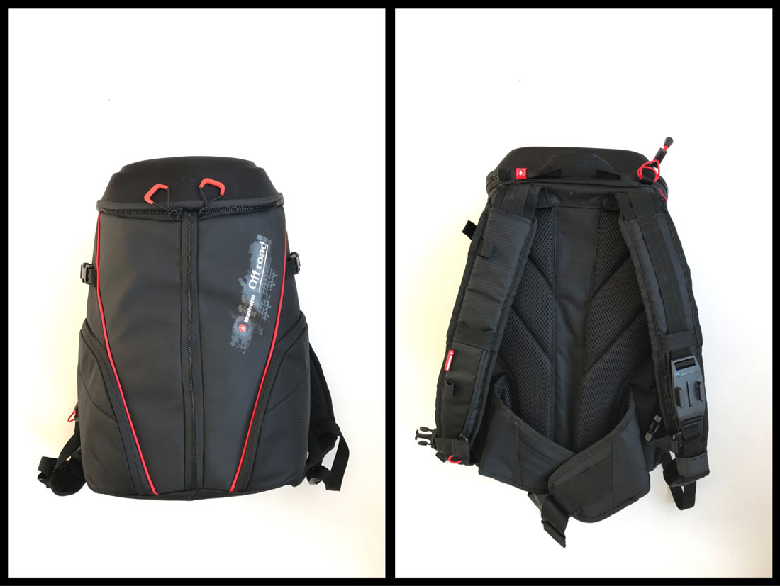 Sac à dos photo/vidéo Manfrotto Offroad Stunt Backpack, 2016, Ph. Moctar KANE.