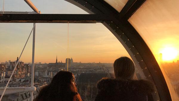 Centre Pompidou, Paris, photo prise avec l'Apple iPhone 7 Plus, 2017, Ph. Moctar KANE.
