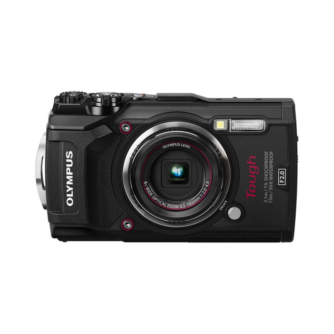 L'appareil photo numérique Olympus Tough TG-5.