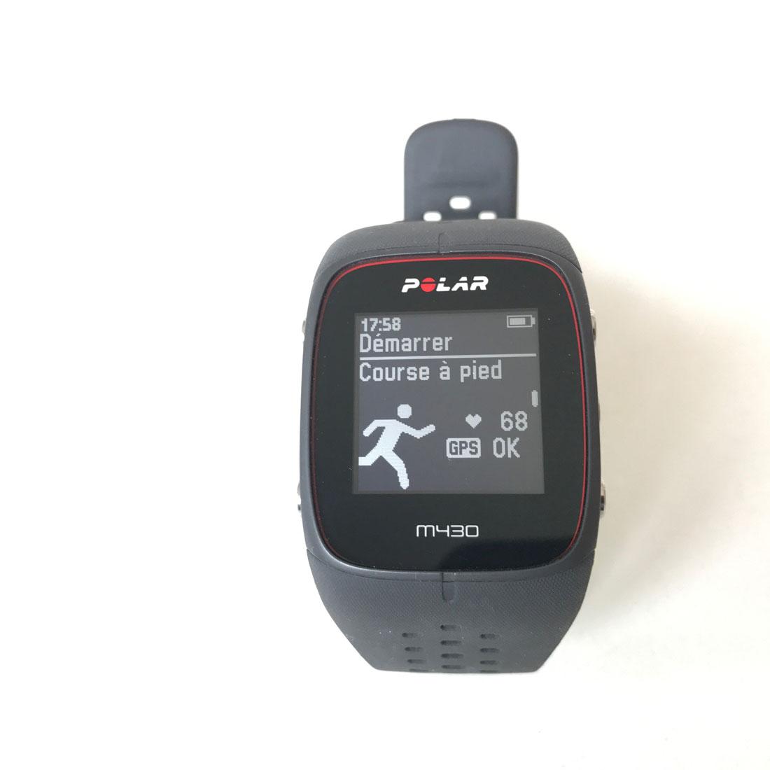 Montre de sport GPS avec cardio intégré Polar M430, 05 2017, Ph. Moctar KANE.