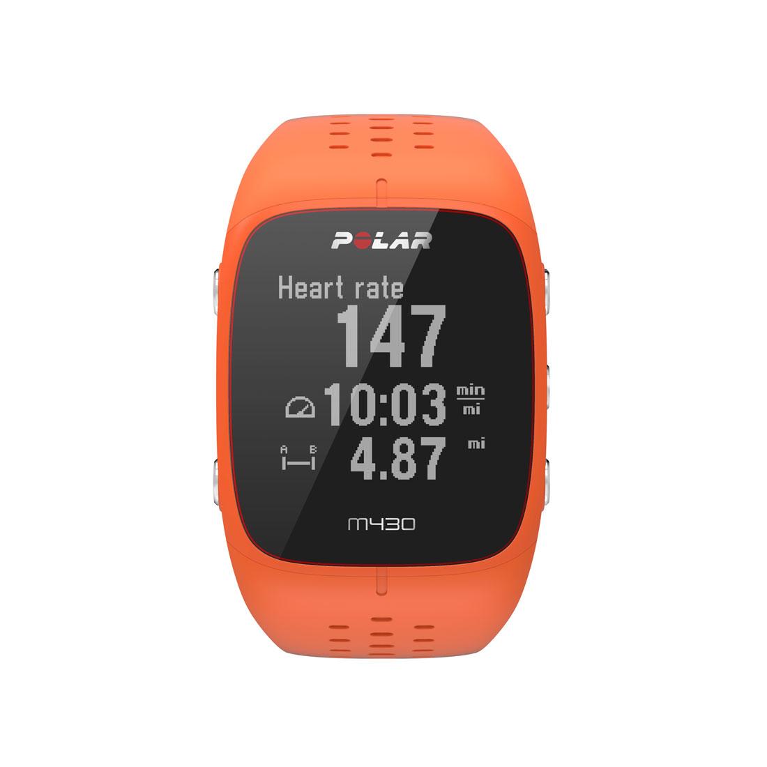 Montre de sport GPS avec cardio intégré Polar M430.