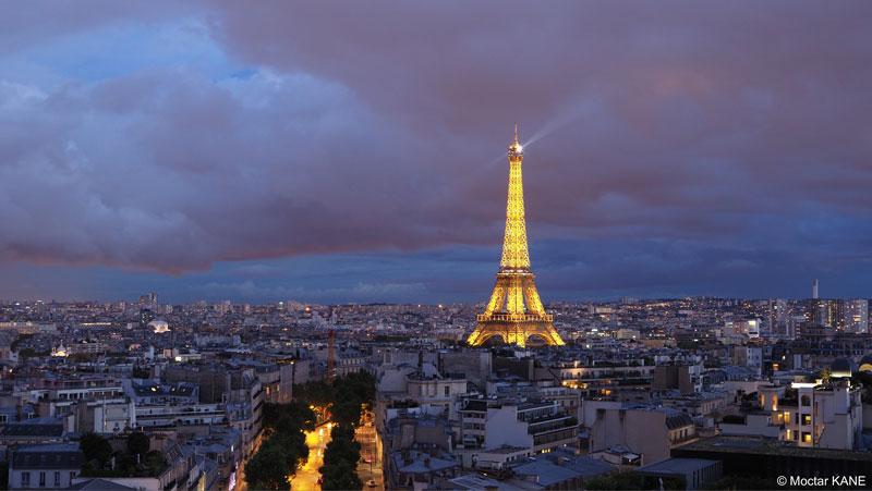 La Tour Eiffel, photographiée avec l'Olympus OM-D E-M1 Mark II, Paris, 2017, Ph. Moctar KANE.
