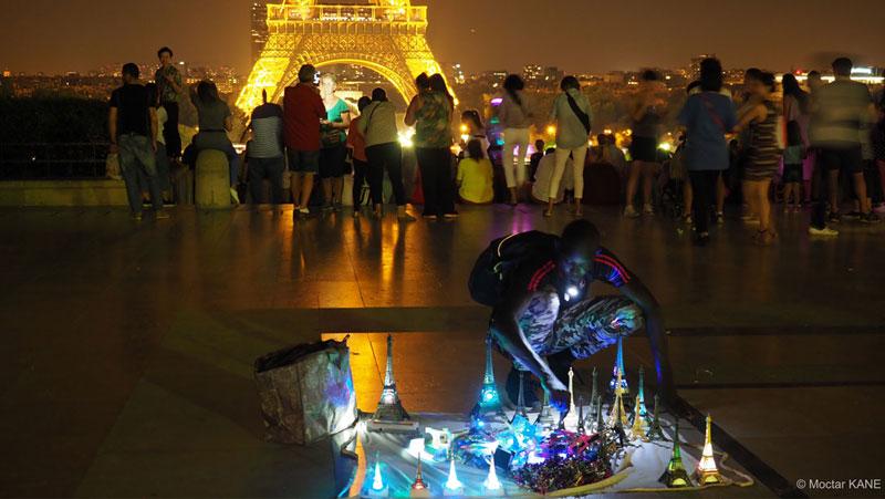 Le Trocadéro, photographié avec l'Olympus OM-D E-M1 Mark II, Paris, 2017, Ph. Moctar KANE.