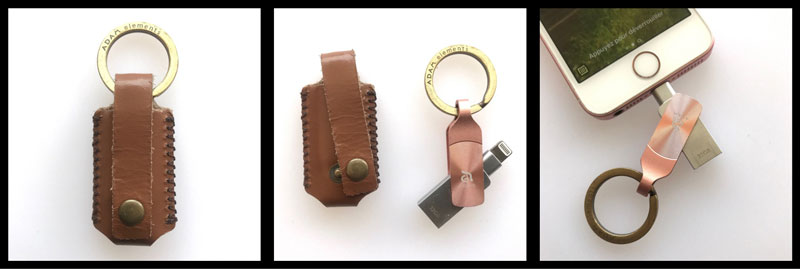 La clé USB ADAM Elements iKlips DUO+, 2017, Ph. Moctar KANE.