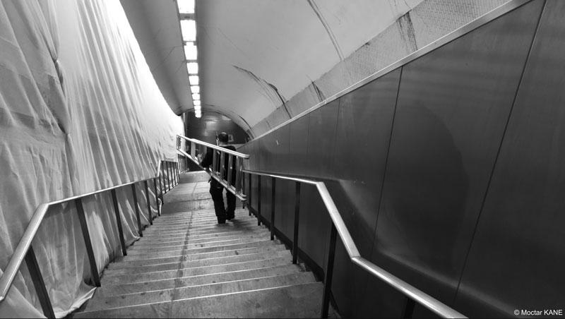 Gare Saint-Michel, prise au smartphone Huawei P10 Plus, 2017, Ph. Moctar KANE.