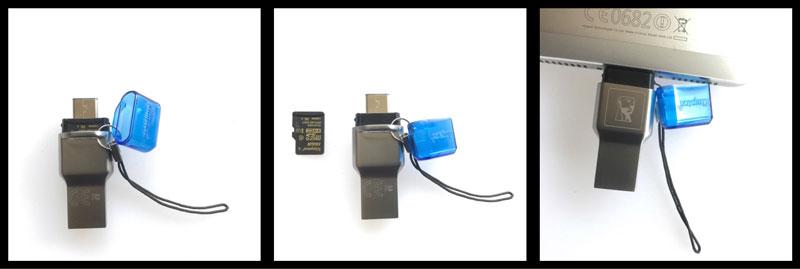 Le lecteur de cartes micro SD Kingston MobileLite Duo 3C, 2017, Ph. Moctar KANE.