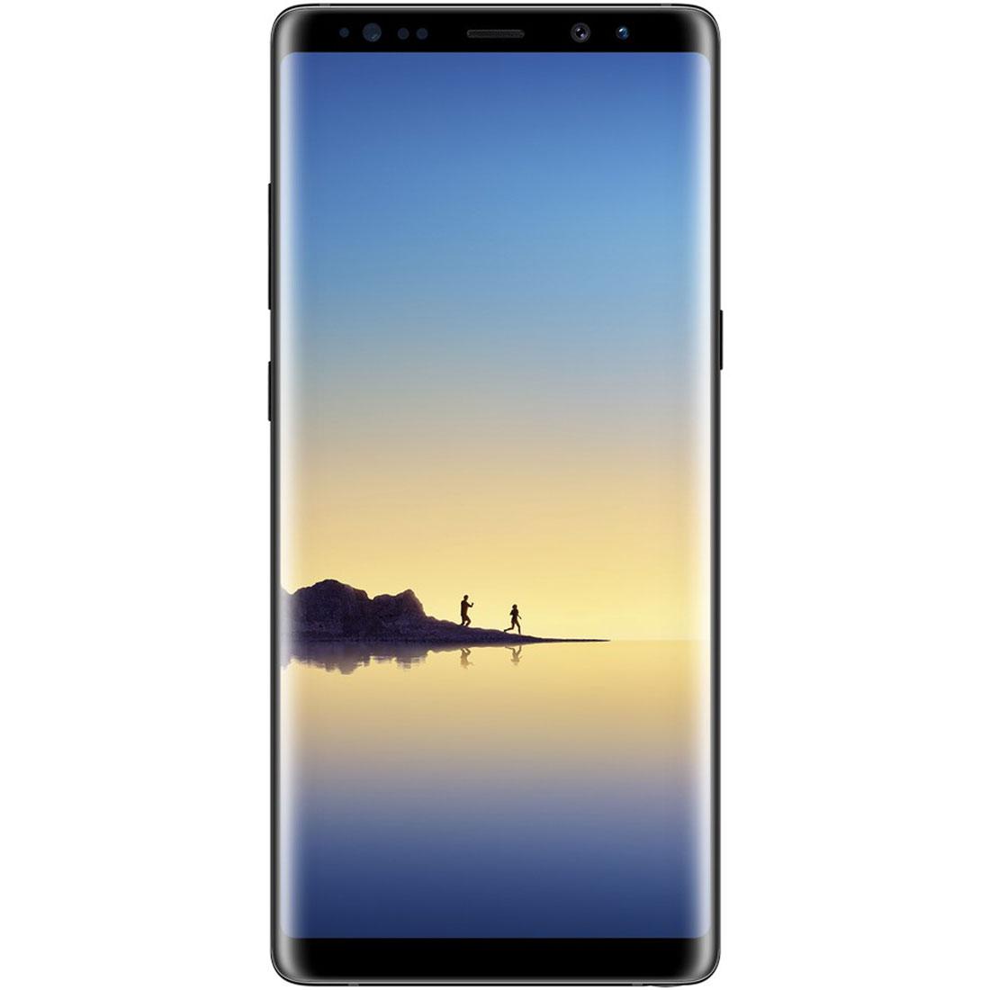 Le smartphone Samsung Galaxy Note8.