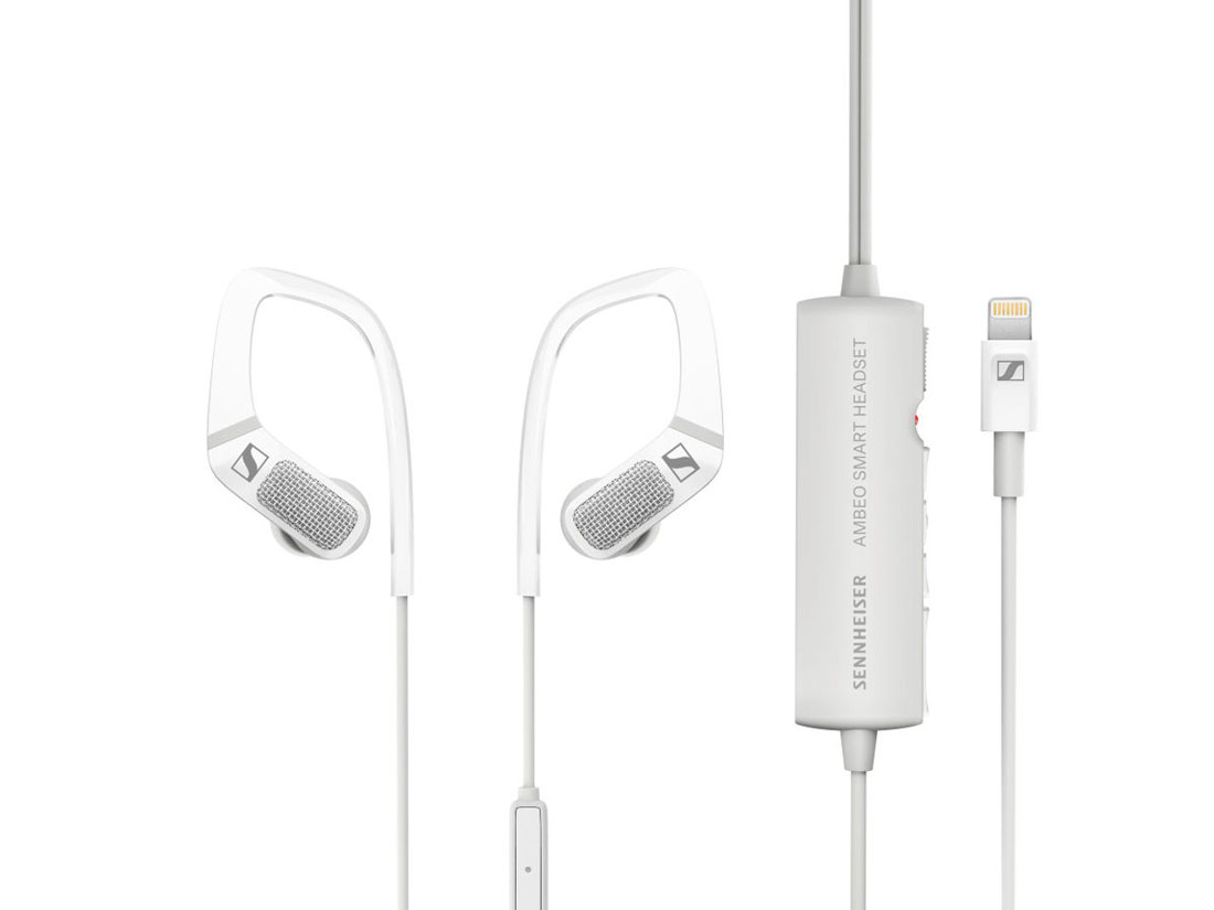 Ecouteurs et enregistreur binaural Sennheiser Ambeo Smart Headset