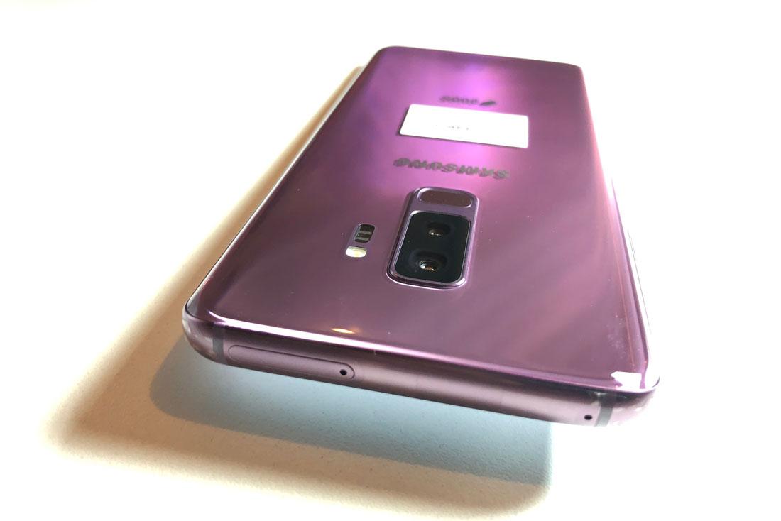 Smartphone Samsung Galaxy S9+, 03 2018, Ph. Moctar KANE.