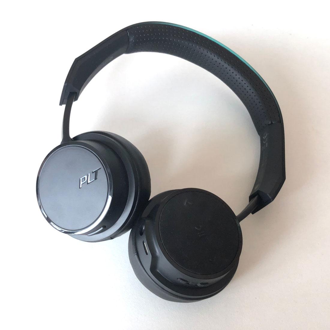 Le casque de sport Bluetooth Plantronics BackBeat FIT 500, 2018, Ph. Moctar KANE.