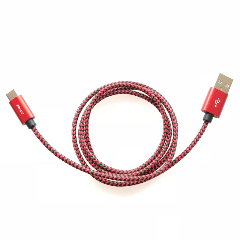 Le PNY Braided Cable USB-A to USB-C, Ph. Moctar KANE.