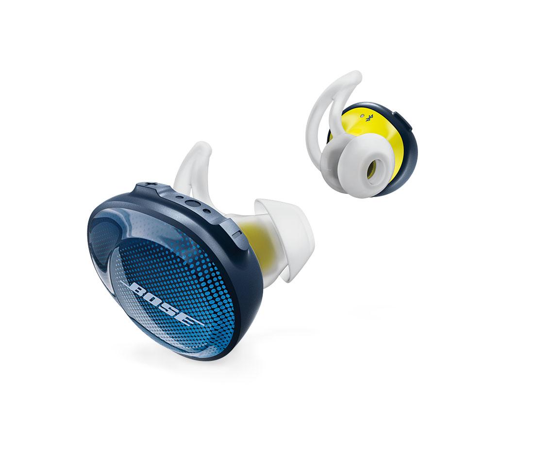 Les écouteurs de sport sans fil Bose SoundSport Free.