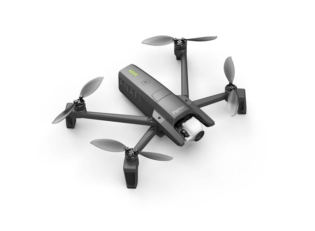 Drone pliable et 4K Parrot ANAFI.