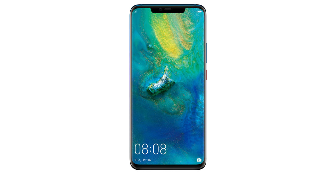Le smartphone à trois capteurs photo Huawei Mate20 Pro.