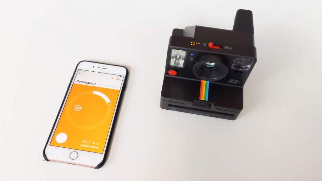 L'appareil photo instantanée Polaroid Originals One Step+ avec son appli, 2018, Ph. Moctar KANE.