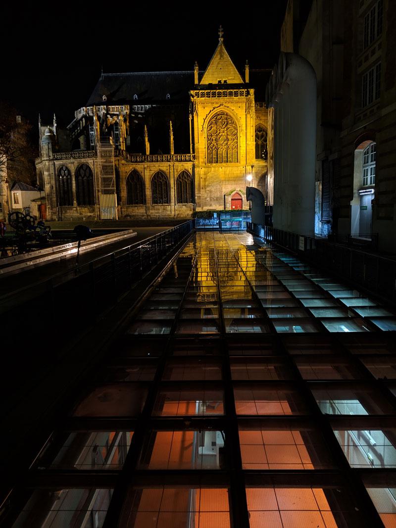 Église Saint-Merry, prise avec Google Pixel 3 XL, Paris 2018, Ph. Moctar KANE.
