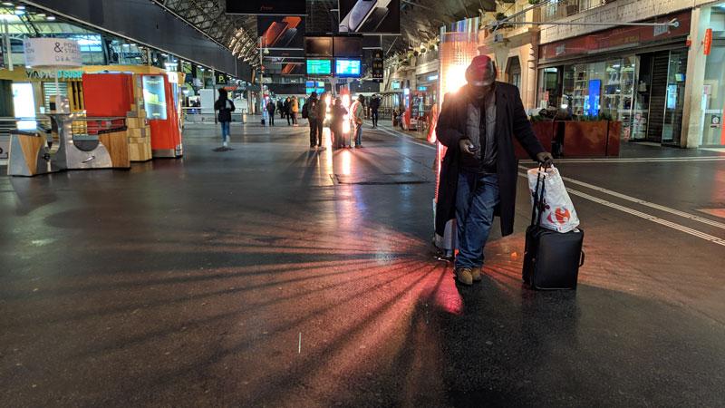 Intérieur Gare de l'Est, pris avec Google Pixel 3 XL, Paris 2019, Ph. Moctar KANE.