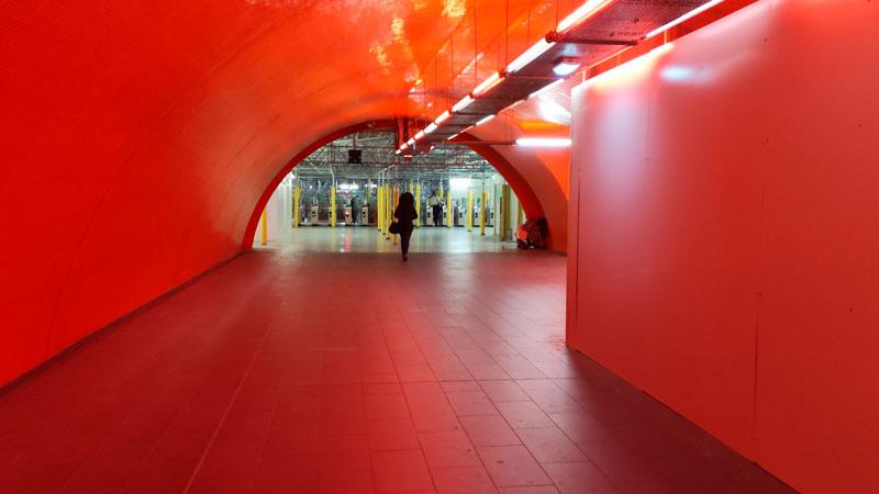 Station Auber, prise avec Google Pixel 3 XL, Paris 2019, Ph. Moctar KANE.