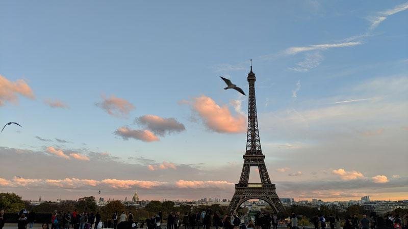 Tour Eiffel, prise avec Google Pixel 3 XL, Paris 2018, Ph. Moctar KANE.