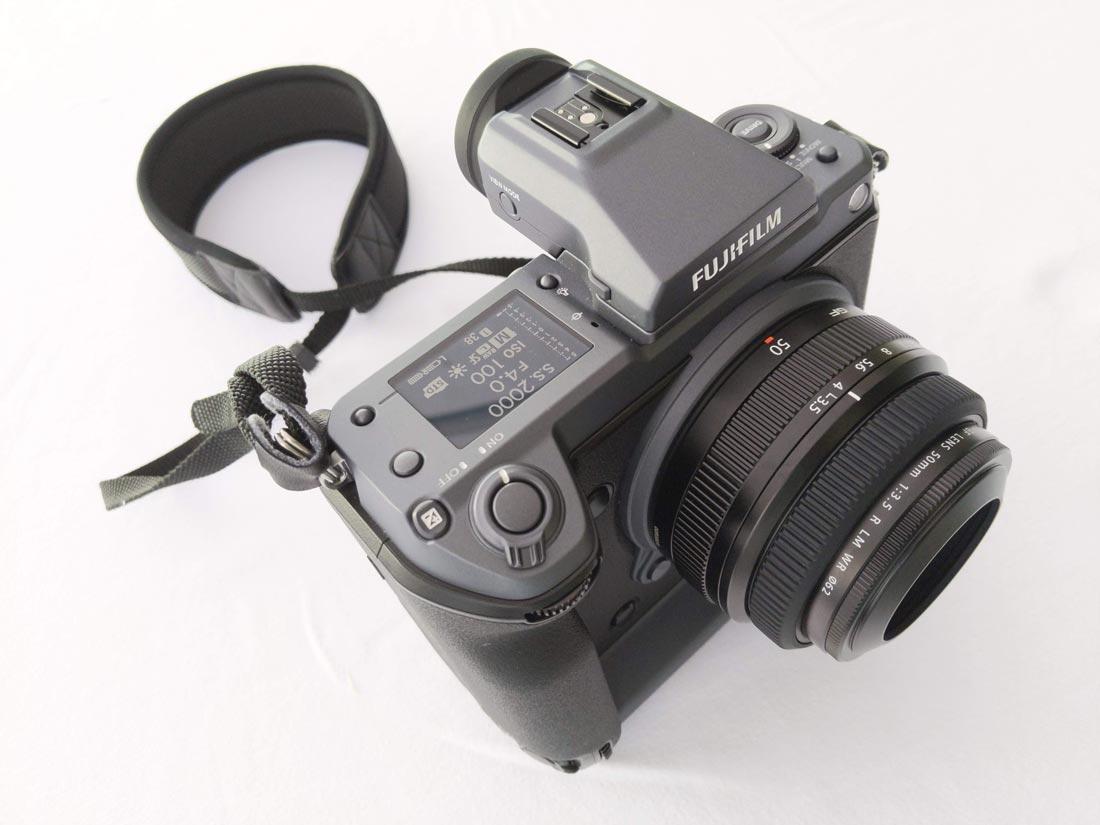 Appareil photo numérique grand format Fujifilm GFX100, 2019, Ph. Moctar KANE.