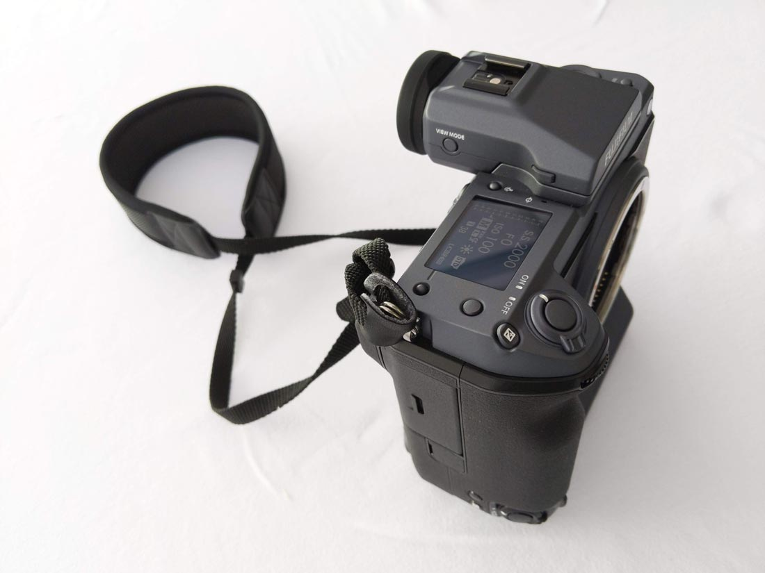 Appareil photo numérique grand format Fujifilm GFX100, boîtier nu, 2019, Ph. Moctar KANE.