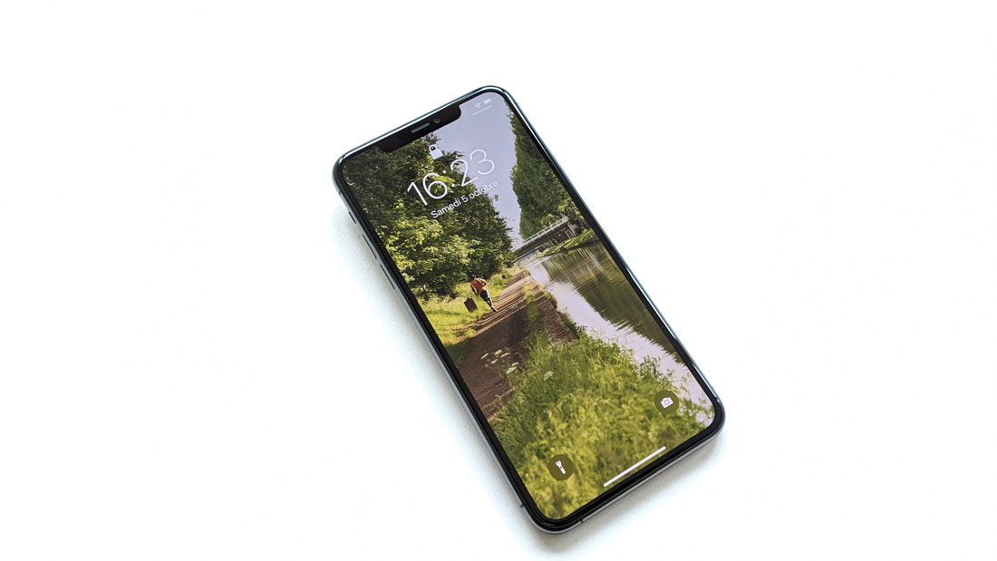 Le smartphone iPhone 11 Pro Max, 2019, Ph. Moctar KANE.