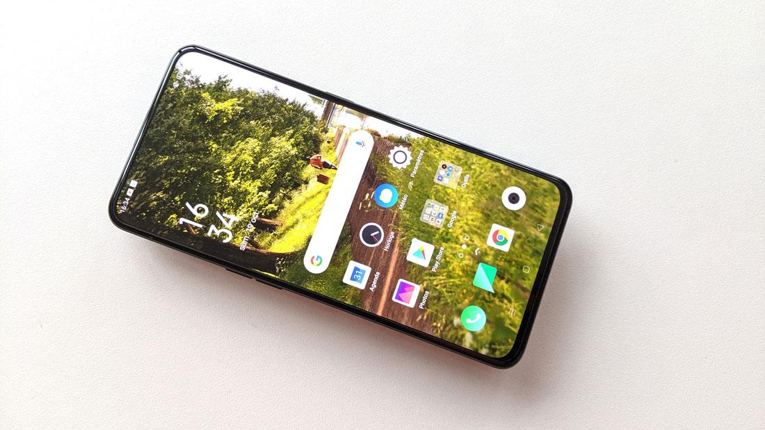 Le smartphone Oppo Reno2, 2019, Ph. Moctar KANE.