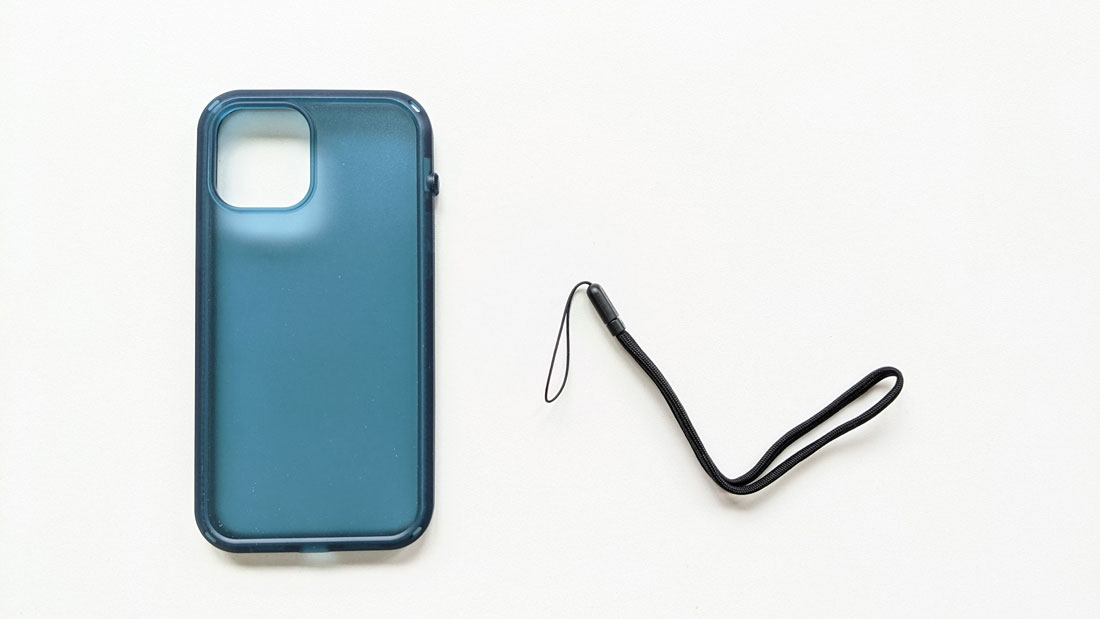Coque de protection Catalyst Influence Series pour iPhone 12 Pro Max et sa dragonne, 2021, Ph. Moctar KANE.