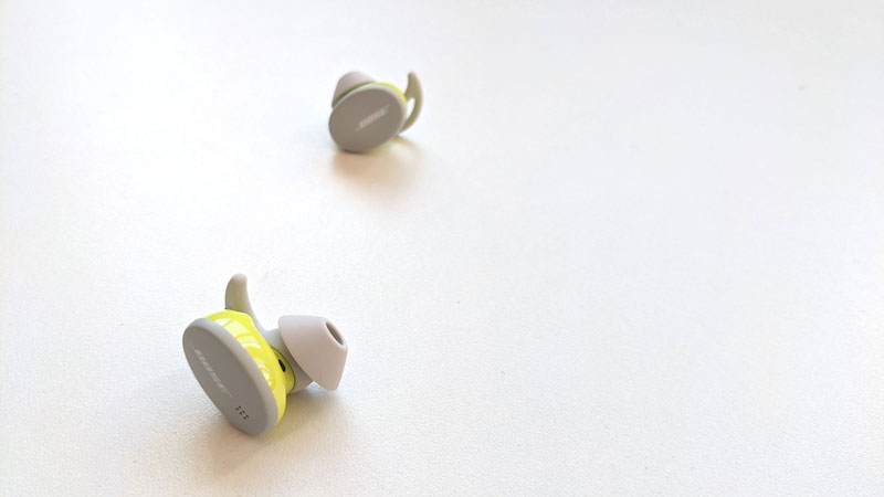 Écouteurs intras de sport sans fil Bose Sport Earbuds, 2021, Ph. Moctar KANE.