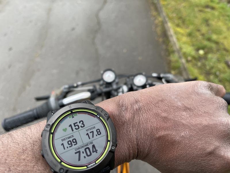 Montre outdoor GPS Garmin Enduro : test sur terrain, 2021, Ph. Moctar KANE.