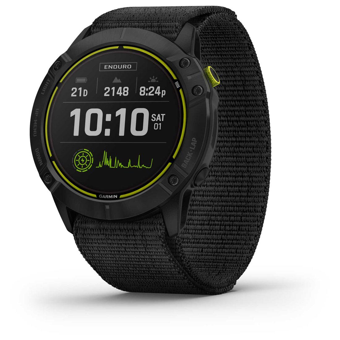 Montre outdoor GPS Garmin Enduro.
